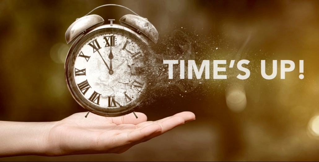 TIME'S UP: Bold Action Now